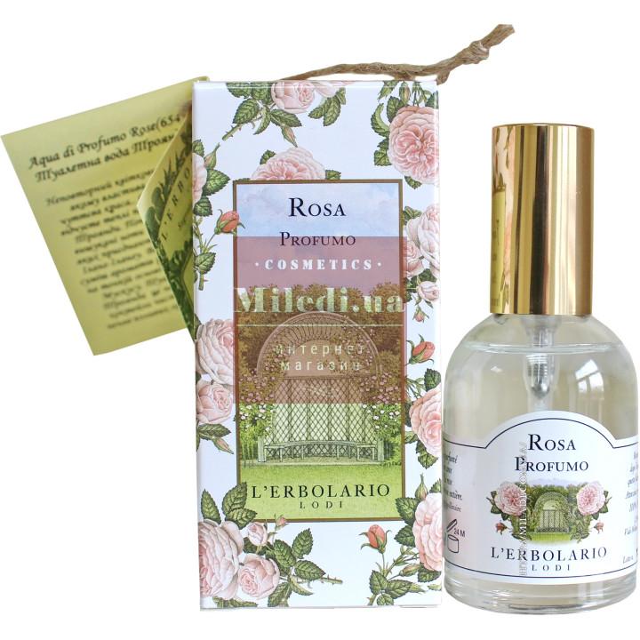 Вода парфюмированная Роза - L`Erbolario Acqua di Profumo Rosa