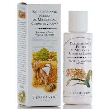 Жидкость для восстановления структуры волос - L`Erbolario Ristrutturante fluido Miglio e Germe di Grano