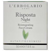 Интенсивный ночной крем против старения, 50мл - L`Erbolario Risposta Notte Crema Reintegrante Per il Viso