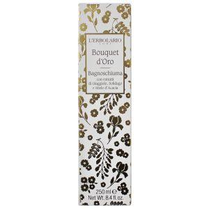 Гель для душа Золотой букет, 250мл - L'Erbolario Bagnoschiuma Bouquet d'Oro