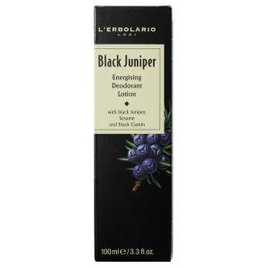 Дезодорант Черный можжевельник, 100мл - L'Erbolario Ginepro Nero Lozione Deodorante Energizzante