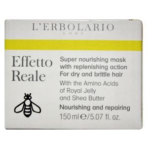 Маска для сухих волос, 150мл - L'Erbolario Effetto Reale Maschera SuperNutriente Ad Azione Restitutiva