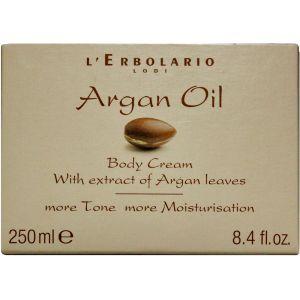 Крем для тела с маслом Аргании, 250мл - L`Erbolario Olio di Argan Crema Corpo