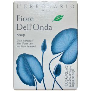 Мыло Голубой лотос, 100гр - L`Erbolario Sapone Fiore Dell'Onda