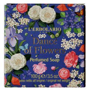 Мыло Вальс цветов, 100гр - L`Erbolario Danza di Fiori Sapone Profumato