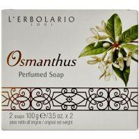 Мыло Османтус, 2х100гр - L`Erbolario Osmanthus Sapone Profumato