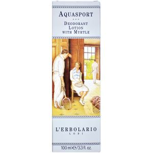 Дезодорант Аква Спорт, 100мл - L`Erbolario Aquasport Lozione Deodorante al Mirto