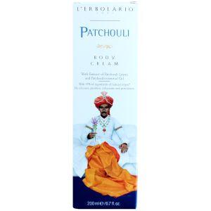 Крем для тела Пачули, 200мл - L'Erbolario Patchouli Crema per il Corpo