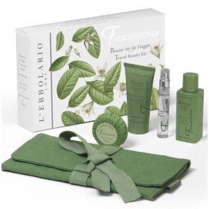 Набор Эссенция свежести, 50мл+30мл+8мл+25гр - L'Erbolario Frescaessenza Travel Beauty Kit