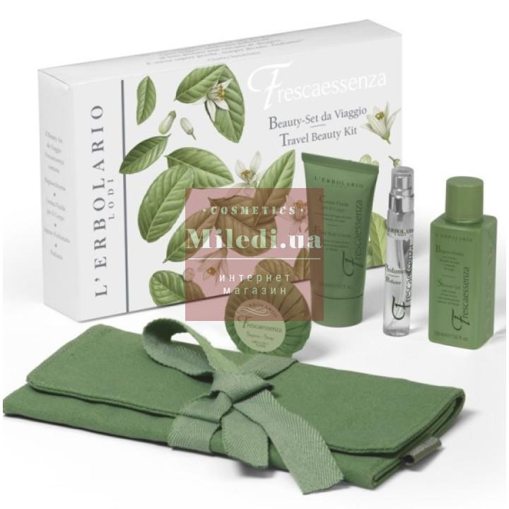 Набор для путешествий Эссенция Свежести - L'Erbolario Frescaessenza Travel Beauty Kit