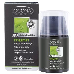 Био-бальзам после бритья Кофеин и гинкго, 50мл - Logona Men's After Shave Balm