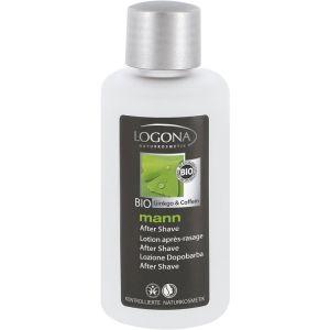 Био-средство после бритья Кофеин и гинкго, 100мл - Logona Men's After Shave Lotion