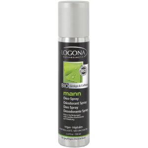 Био-дезодорант спрей Кофеин и гинкго, 100мл - Logona Men's Deodorant Spray