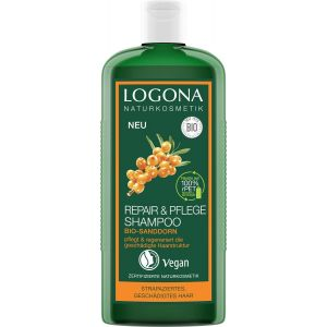 Био-шампунь реконструктор волос Облепиха, 250мл - Logona Repair & Care Shampoo Organic Sea Buckthorn