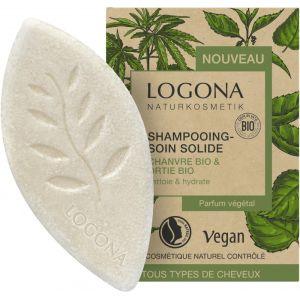 Био-шампунь твердый Конопля и крапива, 60гр - Logona Organic Hemp & Stinging Nettle Solid Shampoo