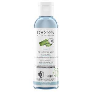 Био-вода мицеллярная для глубокого очищения Алоэ, 125мл - Logona Micellar Water Bio Aloe Vera & Rose