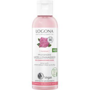 Био-вода мицеллярная для сухой кожи Роза, 125мл - Logona Moisture Micellar Water Organic Damask Rose