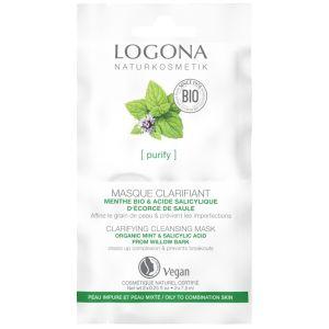 Био-маска очищающая для жирной кожи, 2х7.5мл - Logona Purify Clarifying Cleansing Mask