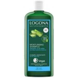 Био-шампунь для увлажнения сухих волос с Алоэ вера, 250мл - Logona Hair Care Moisturising Shampoo Organic Aloe Vera