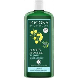 Био-шампунь для сухой кожи головы Акация, 250мл - Logona Hair Care Sensitive Shampoo Organic Acacia