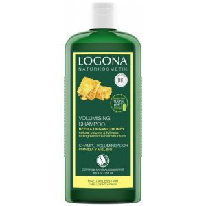 Био-шампунь для объема Мед и пиво, 250мл - Logona Hair Care Volume Shampoo Beer & Organic Honey