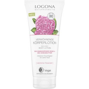Био-лосьон для тела Роза и масло ши, 200мл - Logona Body Lotion Damask Rose & Shea Butter