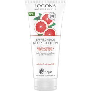 Био-лосьон для тела Грейпфрут и алоэ, 200мл - Logona Refreshing Body Lotion Grapefruit & Bio-Aloe