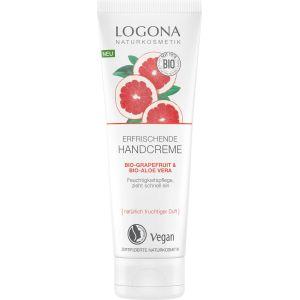 Био-крем для рук Грейпфрут и алоэ, 75мл - Logona Refreshing Hand Cream Grapefruit & Bio-Aloe