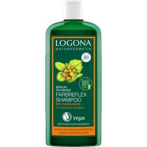 Био-шампунь для окрашенных волос Орех, 250мл - Logona Colour Care Shampoo Organic Hazelnut