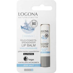 Био-бальзам для губ Гиалуроновая кислота, 4.5гр - Logona Moisture Moisturizing Lip Balm Hyaluronic Acid