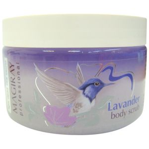 Скраб натуральный солевой для тела Лаванда (Мэджирей) - Magiray Body Scrub Lavender