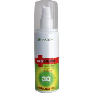 Солнцезащитная эмульсия для лица и тела SPF30 (Мэджирей) - Magiray HisHers ProtectionPlus SPF30