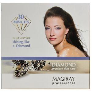 Набор Бриллиантовое сияние, 3х45мл - Magiray Diamond Premium Skin Care
