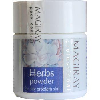 Лечебная пудра антибиотик против акне, 50гр - Magiray Herbs Powder
