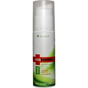 Лечебная скраб-маска для проблемной кожи (Мэджирей) - Magiray HisHers Fast Action Clean Scrub