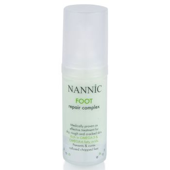 Крем-комплекс для стоп - Nannic Foot Repair Complex