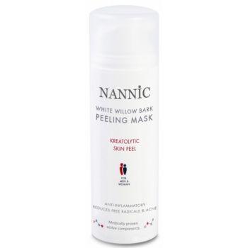 Пилинг-маска ферментная на основе коры ивы - Nannic Willow Bark Peeling Mask