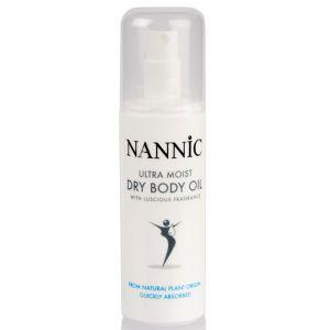 Масло сухое увлажняющее для тела - Nannic Ultra Moist Dry Body Oil