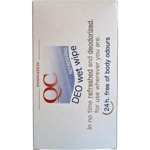 Дезодорирующие салфетки, 10шт - Nannic QC DEO Wet Wipes