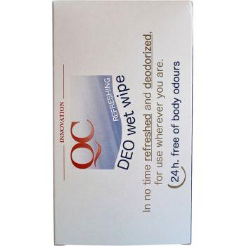 Дезодорирующие салфетки - Nannic QC DEO Wet Wipes