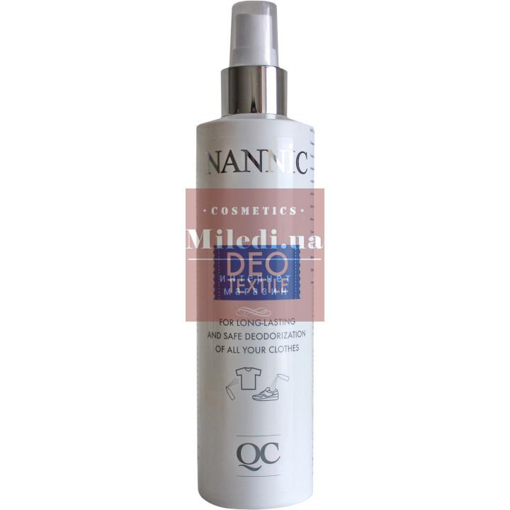 Дезодорирующий спрей для одежды DEO - Nannic QC DEO Textile