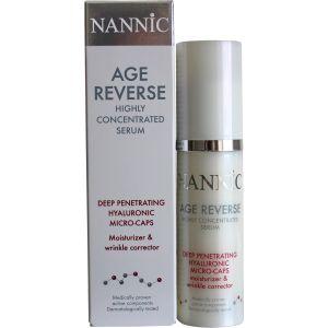 Высококонцентрированная крем-сыворотка с гиалуроновыми микрокапсулами (Нанник) - Nannic Age Reverse Deep Renetrating Hyaluronic