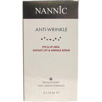 Набор сывороток против морщин вокруг глаз День и Ночь - Nannic SET Anti-Wrinkle