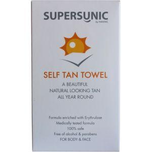 Суперсаник салфетки для автозагара, 8шт - Nannic Supersunic Self Tan Towel