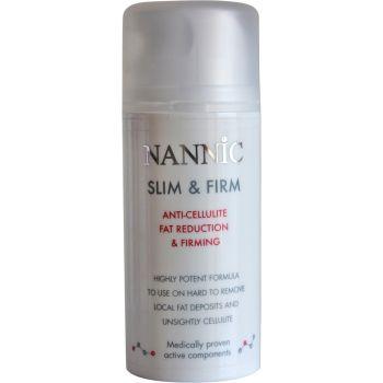 Сыворотка антицеллюлитная для снижения объемов и подтяжки кожи - Nannic Slim & Firm