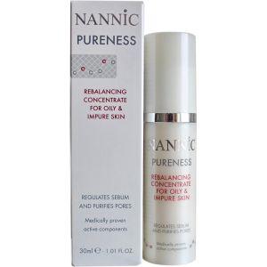 Крем-сыворотка для жирной, проблемной кожи (Нанник) - Nannic Rebalancing Concentrate for Oily & Impure Skin