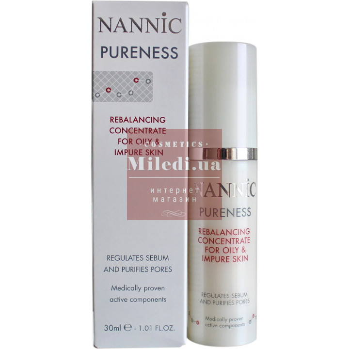 Сыворотка для жирной, проблемной кожи - Nannic Rebalancing Concentrate for Oily & Impure Skin