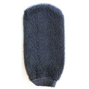 Рукавичка для скрабирования, шт - Nannic  Black Glove