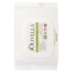 Салфетки очищающие для лица и тела, 30шт - Olivella Daily Cleansing Tissues