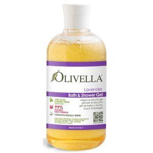 Гель для душа Лаванда на основе оливкового масла, 500мл - Olivella Bath & Shower Gel Lavender